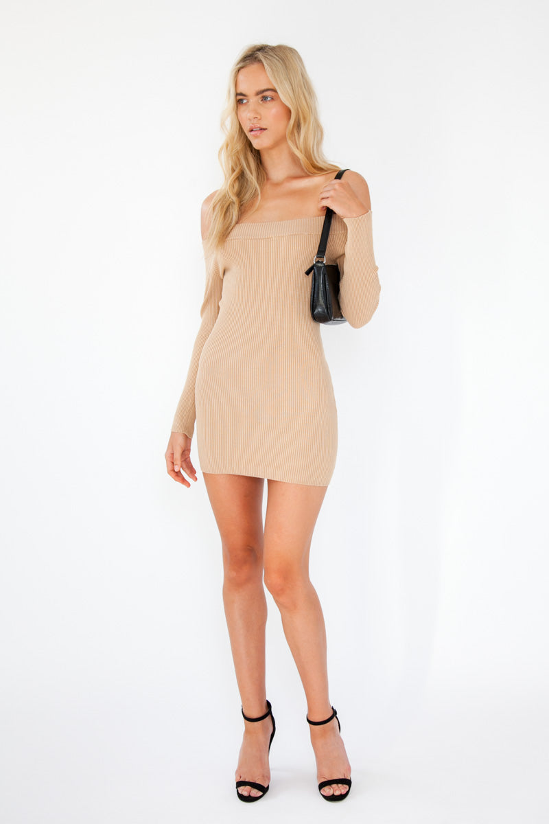Lucy Dress - Nude