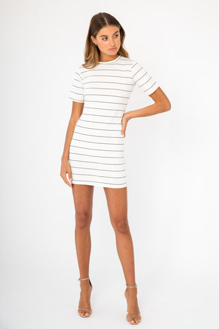 Ribbed Skivvy Dress