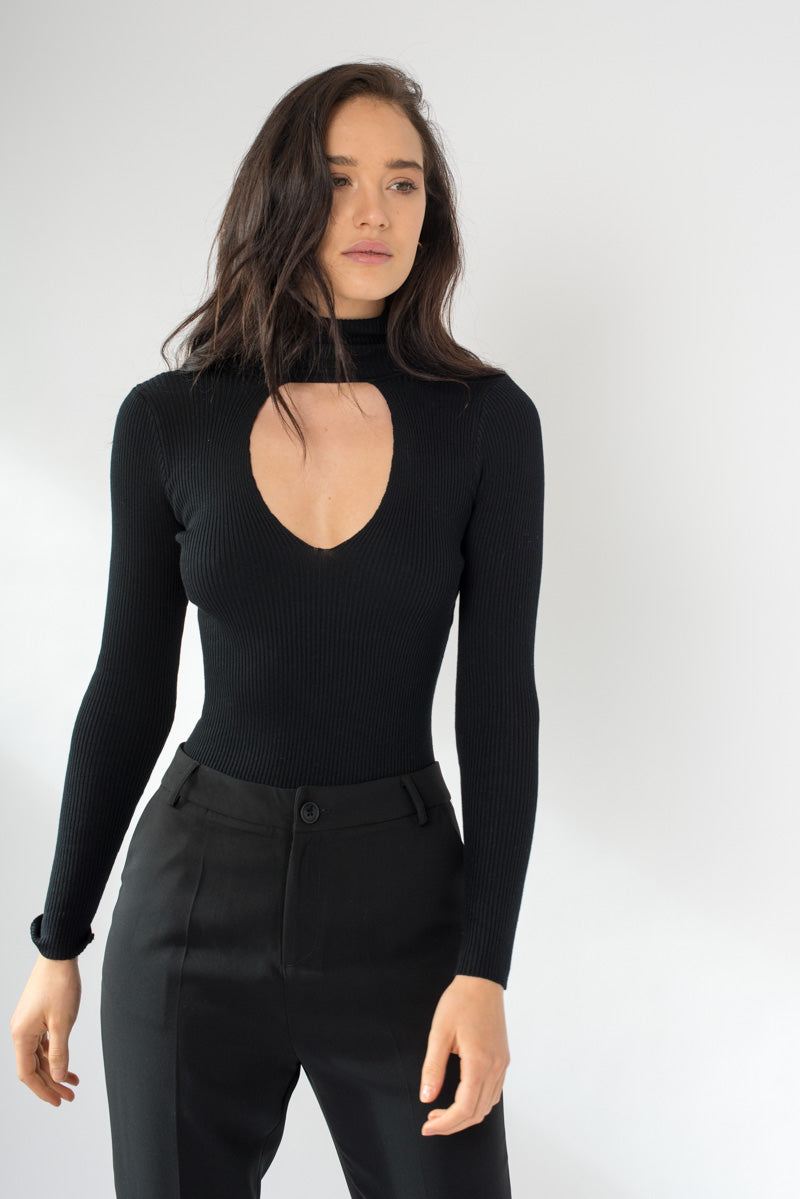 Mariah Bodysuit - Black