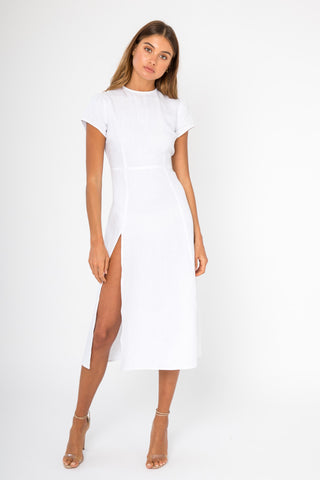 Melissa Dress - White