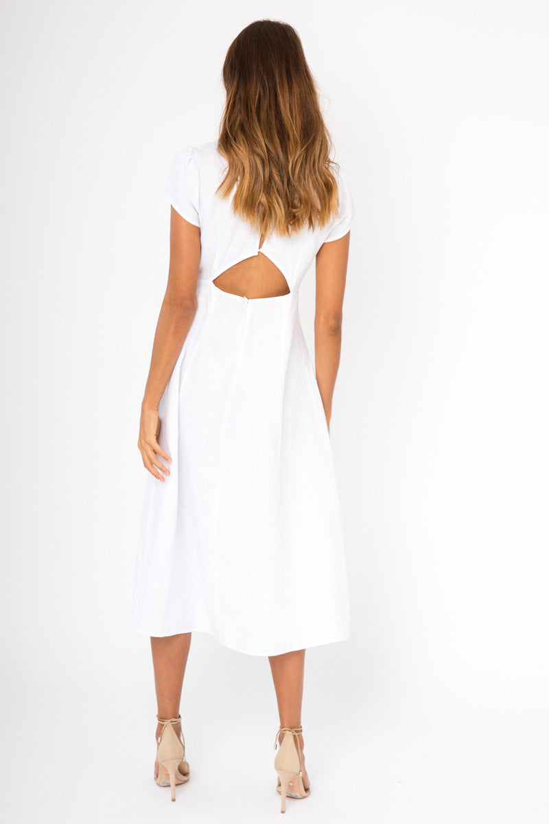 Larissa Dress - White