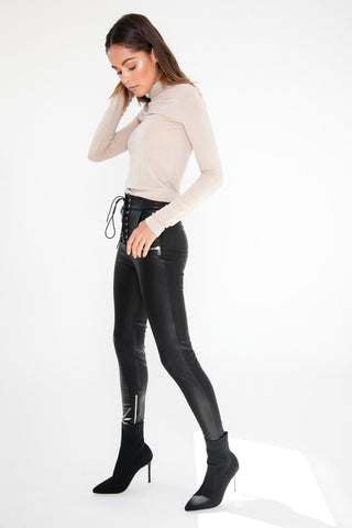 Slouchy Knit Jumper - Black