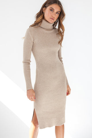 Anu Dress - Autumn Gold