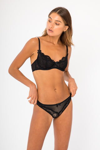 Louise Bra - Black