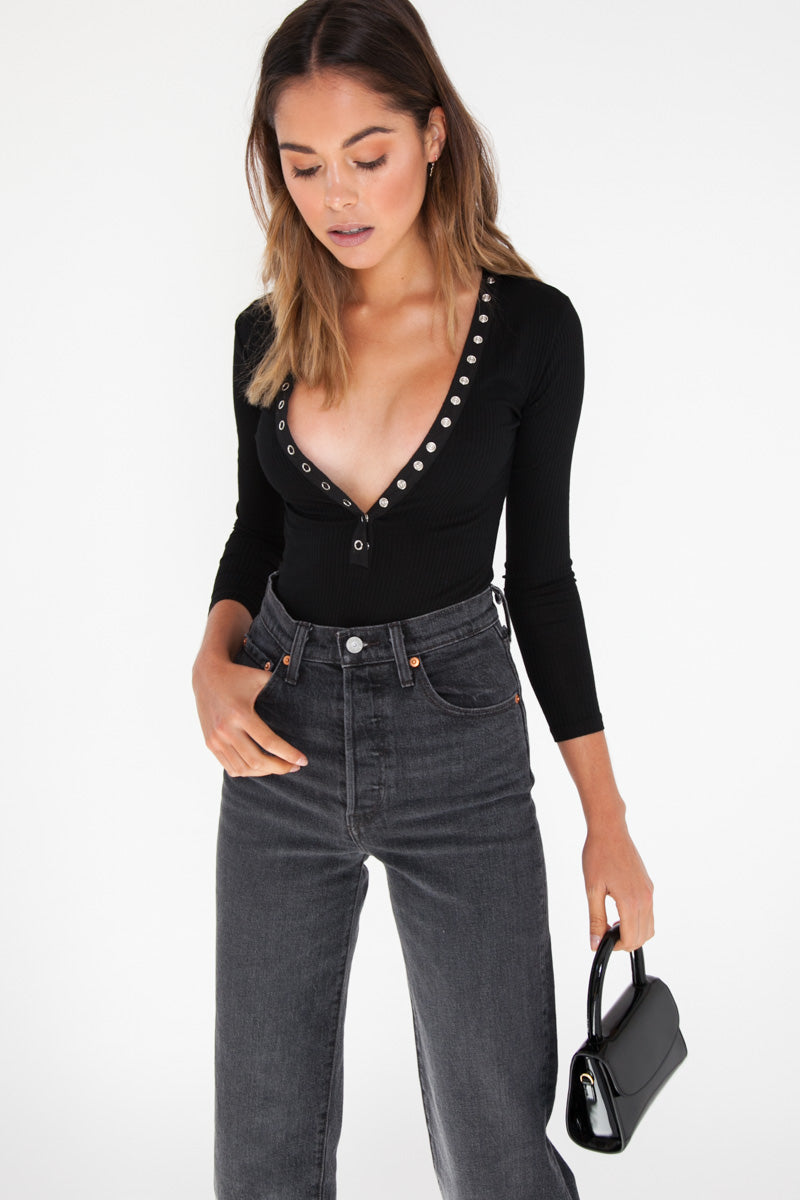 Sooki Bodysuit - Black
