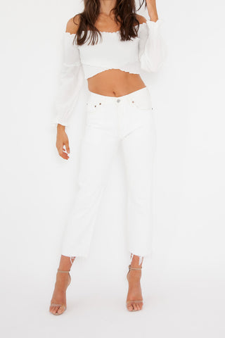 Denis Top - White