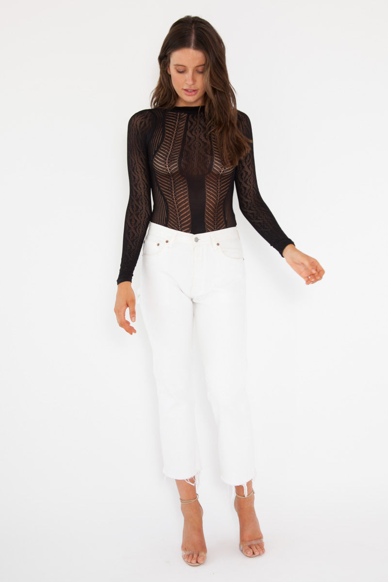 Chloe Bodysuit - Black