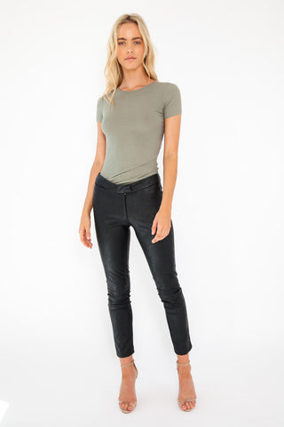 Cat Top - Khaki