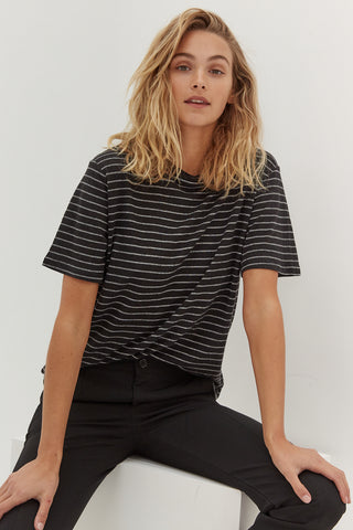Skivvy Crop - Black