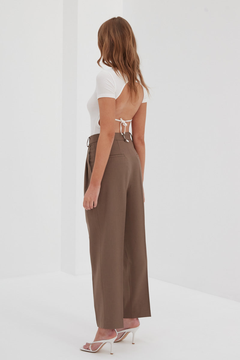 Charlie Trouser Pants - Brown