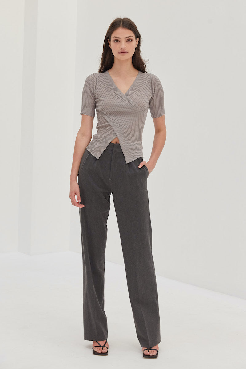 Mahila Top - Grey