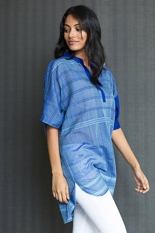 Hand Woven Slouchy Tunic