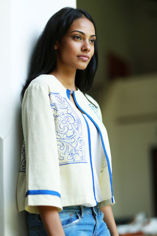 Fine Handwoven Travel Coat