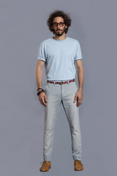 Pale Blue T Shirt