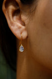 Rainbow Moonstone Earrings B