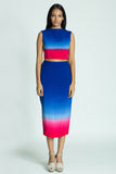 AMANDA Dip-dyed pencil skirt - Fashion Market.LK