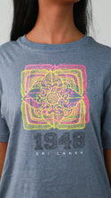 Load image into Gallery viewer, 1948 Sri Lankan Motif Crew Neck T-Shirt