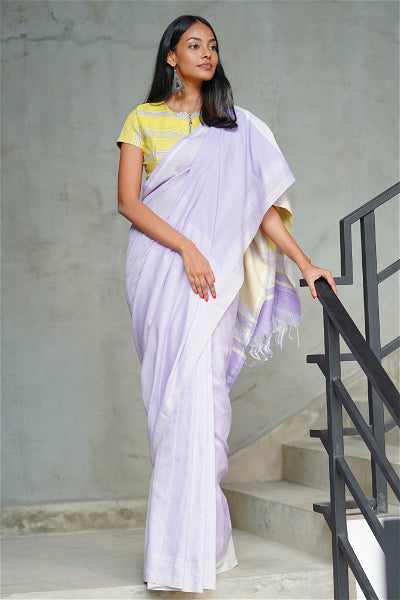 Urban Drape Tropical Morning Glory Saree