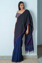 Load image into Gallery viewer, Urban Drape Sable Ray Saree