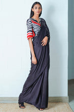 Load image into Gallery viewer, Urban Drape Ebony String Saree