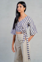Load image into Gallery viewer, Pastel Stripes Crop Top