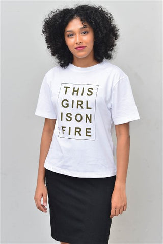 This Girl Is On Fire T Shirt