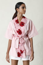 Load image into Gallery viewer, Pink Kimono Cardigan