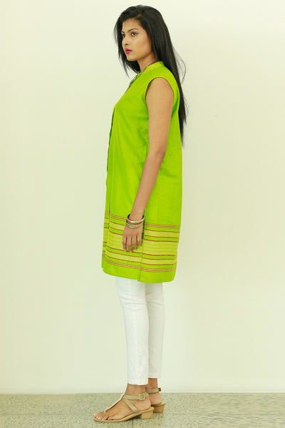 Hand Woven Tunic Top