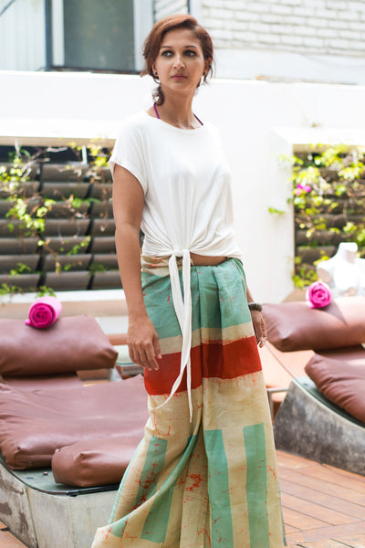 Urban Island Color block beach wrap