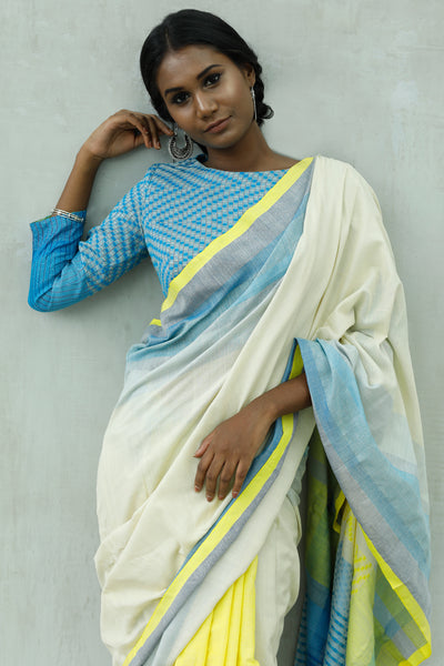 Urban Drape Ice Crystal Saree - Fashion Market.LK