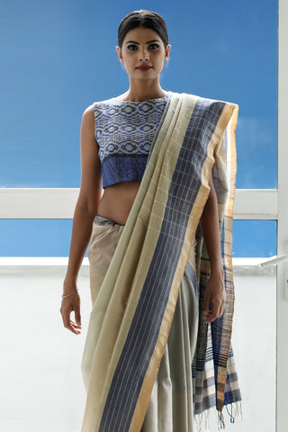 Urban Drape Sand and Shadows Saree