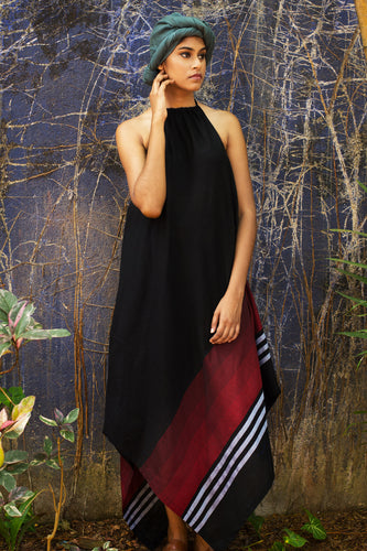 Handloom Handkerchief Pointy Dress - Fashion Market.LK