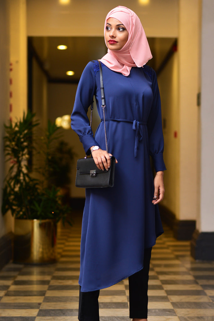 Asymmetric Abaya -Immediate Shipping - Order Now