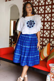 Midi Maxi Handwoven Skirt - Fashion Market.LK