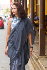 Jeans Saree-Immediate Shipping -Order Now