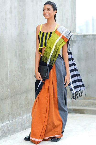Urban Drape Colour Cosmic Saree