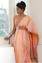 Load image into Gallery viewer, Urban Drape Spring Peach Saree
