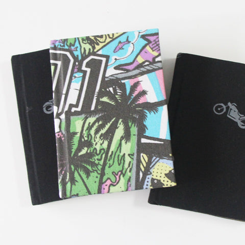 Printed note book set - A6