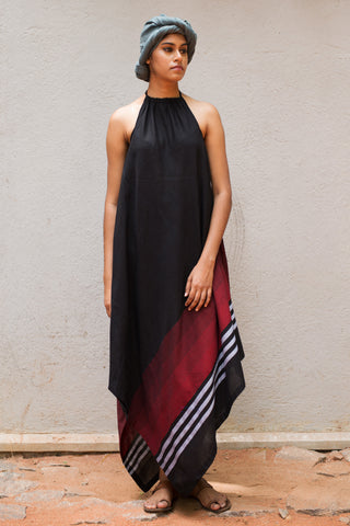 Handloom Handkerchief Pointy Dress