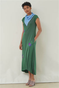 Rumer Cowled Maxi Dress V1