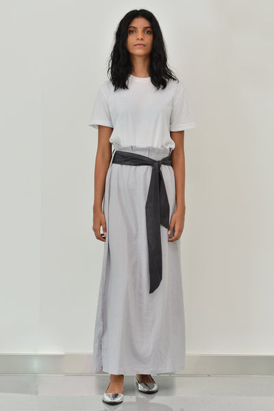 Wrap Skirt With Side Slit - Fashion Market.LK