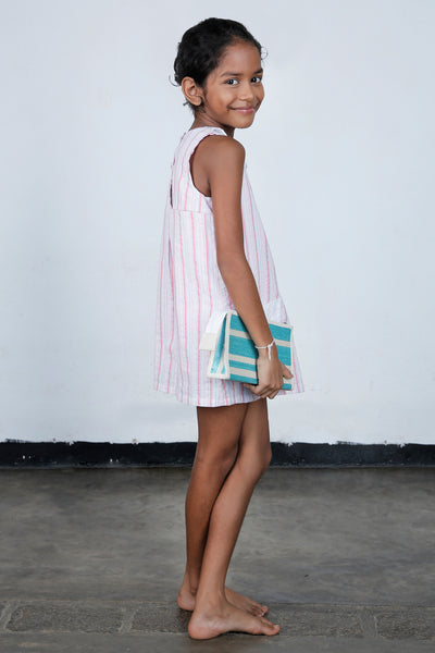 Pink Wonderland Shift Dress - Opt II - Fashion Market.LK