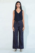 Load image into Gallery viewer, Mendes Ceylon Mara High-waist Black Pants