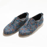 Floral elasticated shoes - Fashion Market.LK