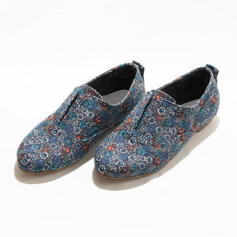 Floral elasticated shoes