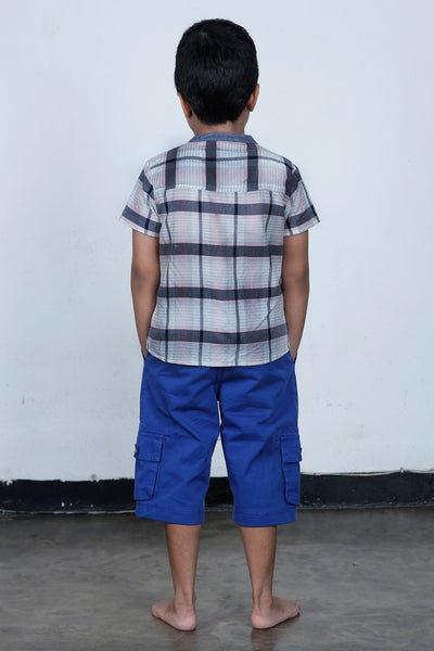 Hand Woven check shirt - Fashion Market.LK