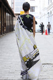 Ceylon batik saree - Immediate Shipping - Order Now