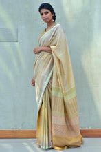 Load image into Gallery viewer, Urban Drape Laguna Peach Saree