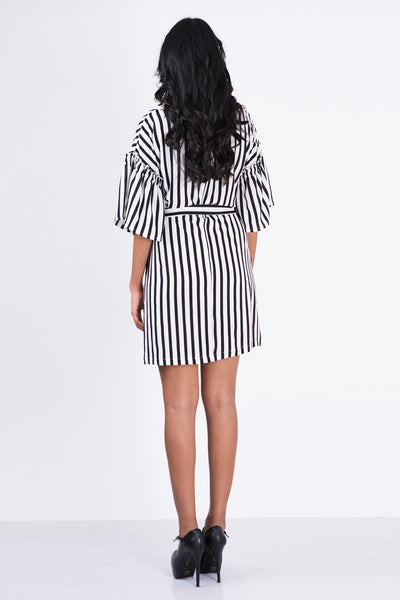 Mare  Puffed Sleeve Dress