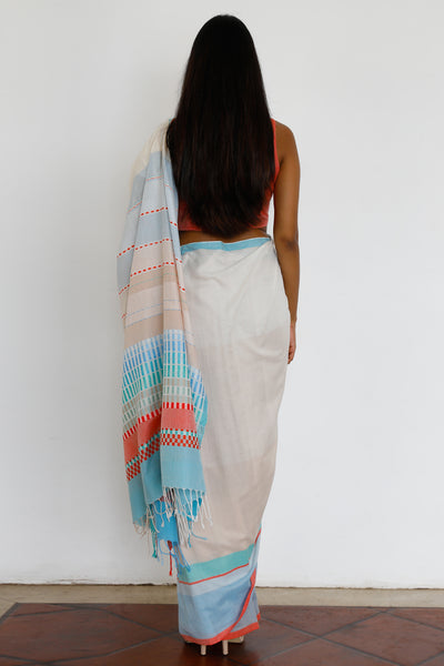 Urban Drape Mediterranean Sands Saree - Fashion Market.LK